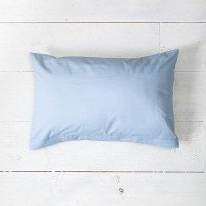 2-PACK: Sierkussenslopen Luxe Katoen - Licht Blauw