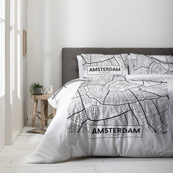 AMS - Black/White - Wit - 200 x 200