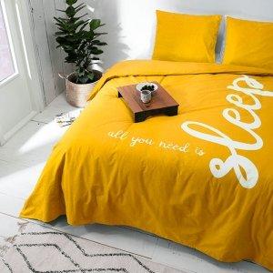 All You Need Is Sleep - Geel - 200 x 240