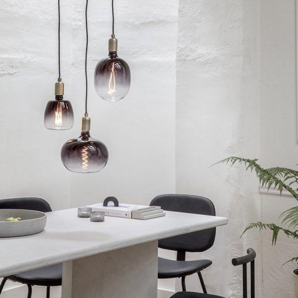 Avesta Moonstone - LED Lamp - Zwart