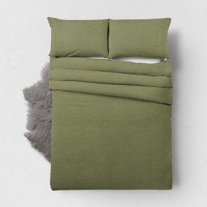 Bamboo Touch - Olijfgroen - Groen - 240 x 200