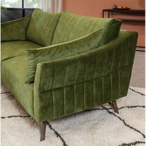 Groen woonkamer