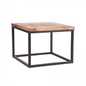 Bijzettafel Box - 60 x 60 cm - Bruin