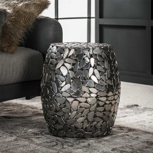 Bijzettafel Maidstone - Zilver
