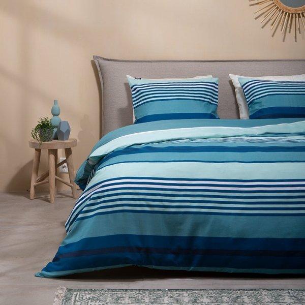 Blue Stripes - 140 x 220