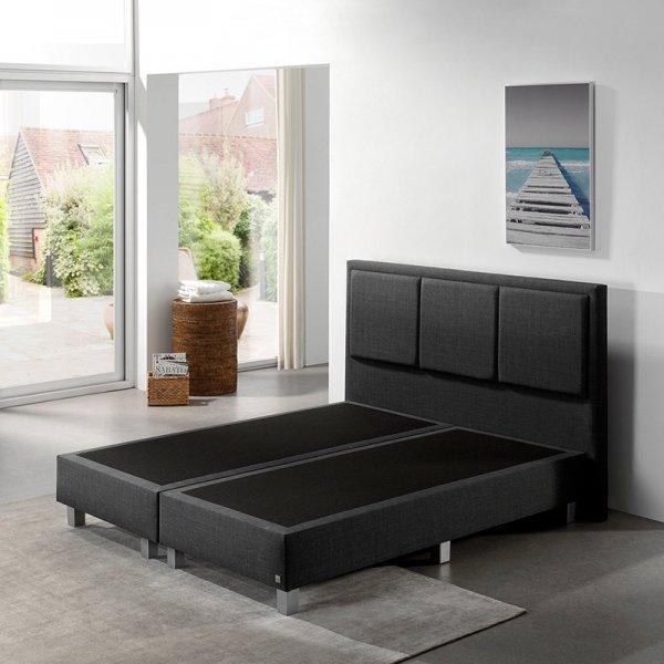 Boxspringset - Kenzo Comfort - Antraciet - 180 x 200