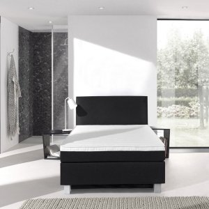 Boxspringset Ultra Comfort 2.0 - 1 Persoons - Antraciet - 90 x 200