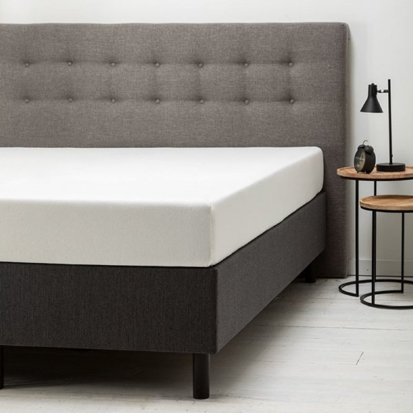 Comfort Hoeslaken Jersey - Crème - Creme - 180 x 200