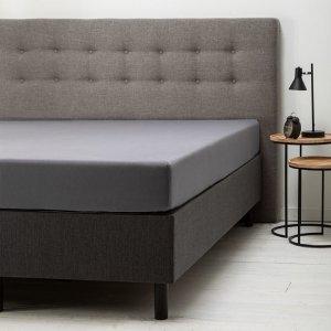 Comfort Hoeslaken Jersey - Donkergrijs - Antraciet - 160 x 200