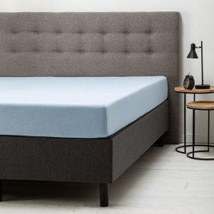 Comfort Hoeslaken Jersey - Lichtblauw - Blauw - 160 x 200