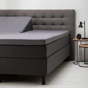 Comfort Split- Topper Hoeslaken Jersey- Antraciet - 200 x 200