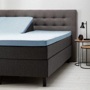 Comfort Split- Topper Hoeslaken Jersey - Blauw - 160 x 200