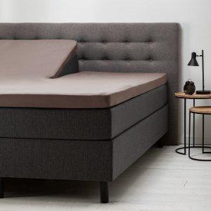 Comfort Split- Topper Hoeslaken Jersey - Taupe - 180 x 200