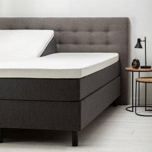 Comfort Split- Topper Hoeslaken Jersey - Wit - 200 x 200