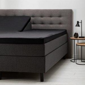Comfort Split- Topper Hoeslaken Jersey - Zwart - 200 x 200