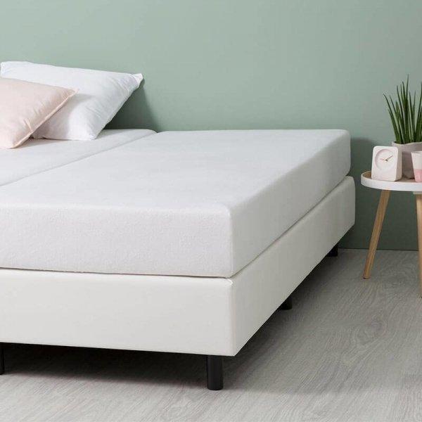 Comfort Stretch Molton Hoeslaken - Wit - 90 x 200