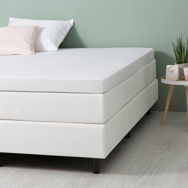 Comfort Stretch Molton Topper Hoeslaken - Wit - 180 x 200
