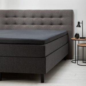 Comfort Topper Hoeslaken Jersey - Antraciet - 140 x 200