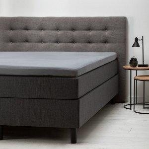 Comfort Topper Hoeslaken Jersey - Grijs - 90 x 200