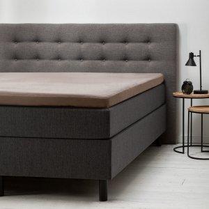 Comfort Topper Hoeslaken Jersey - Taupe - 120 x 200