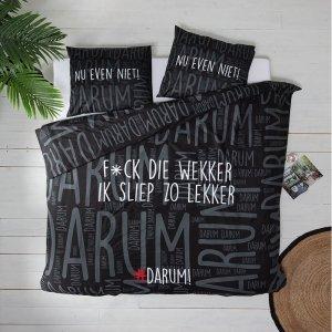 #DARUM! F*ck die wekker! - Zwart - 240 x 220