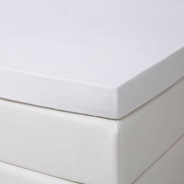 DD Verkoelend Katoenen Topper Hoeslaken - Antraciet - 180 x 200