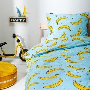 Dekbedovertrek Bananas - Blauw