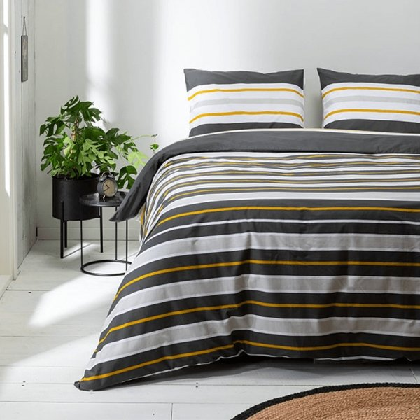 Dekbedovertrek Horizontal Stripes - 200 x 200