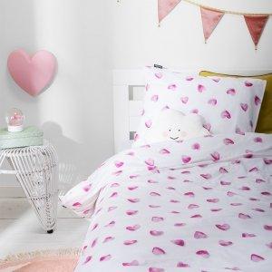 Dekbedovertrek Tiny Hearts - Roze