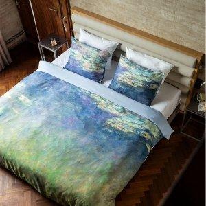 Dekbedovertrek Waterlelies - Art Collectie - 200 x 200