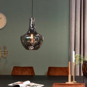 Design Hanglamp Smoke Glas - Enkel