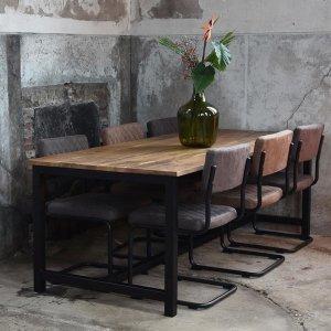 Eetkamertafel Ghent - Bruin