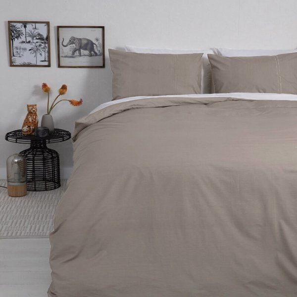Taupe Beddengoed