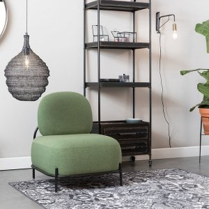 Fauteuil Polly - Geel