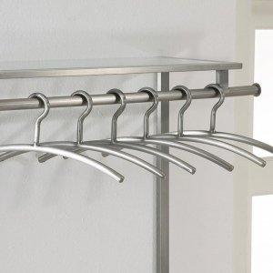 Garderobehanger Set RVS - 6 Stuks - Zilver