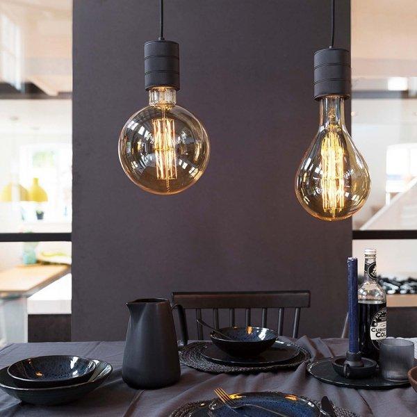 Giant Filament Splash Goud - LED Lamp
