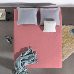 HC Dubbel Jersey Hoeslaken - Roze - 100 x 200