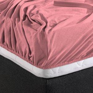HC Dubbel Jersey Hoeslaken - Roze - 180 x 200
