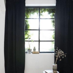 Haken Gordijn - 300 x 250 - Zwart