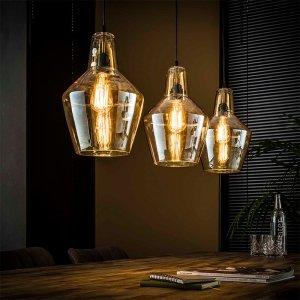 Hanglamp Amber - 3L - Kegel
