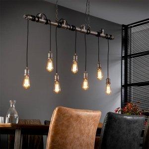 Hanglamp Bowie - 7 Lichts - Zilver