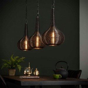 Hanglamp Brilon - Zwart