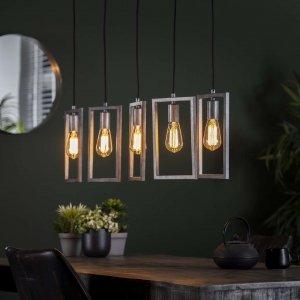 Hanglamp Cona - 5L - Grijs