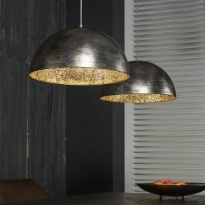 Hanglamp Dua - Dubbel - Zilver