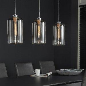Hanglamp Edolo - 3L - Glas Metallic