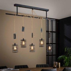 Hanglamp Elevate - 5L - Bruin