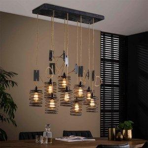 Hanglamp Elevate - 9L - Bruin