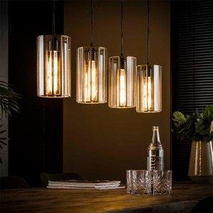 Hanglamp Estella - Cilinder - Zilver