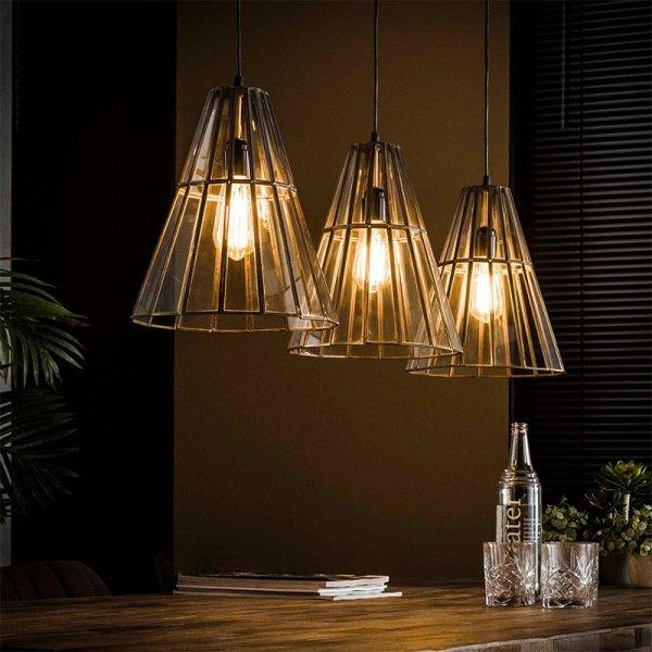 Hanglamp Estella - Kegel - Zilver