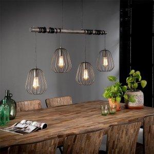 Hanglamp Finley - Grijs